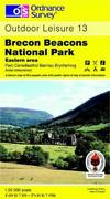 image of Brecon Beacons National Park: Eastern Area (Outdoor Leisure Maps)