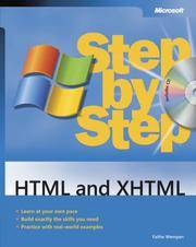 HTML and XHTML Step by Step (Step By Step (Microsoft))