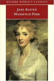 Mansfield Park (Oxford World's Classics) by  Jane Austen - Paperback - from SecondSale (SKU: 00023731157)