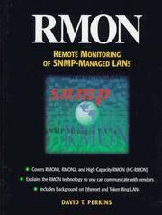 RMON: Remote Monitoring of SNMP-Managed LANs