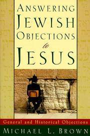image of Answering Jewish Objections to Jesus: General and Historical Objections