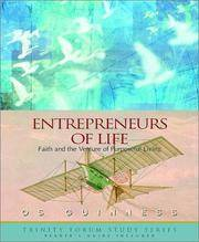ENTREPRENEURS OF LIFE: FAITH AND THE VENTURE OF PURPOSEFUL LIVING