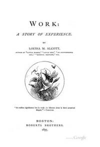 image of WORK LOUISA MAY ALCT (Studies in the Life of Women)