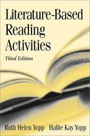 Literature-Based Reading Activities (3rd Edition)
