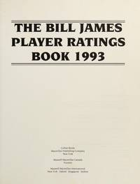 The Bill James Player Ratings Book '93