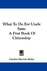 What To Do For Uncle Sam