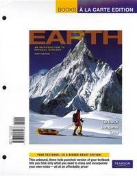 image of Earth: An Introduction to Physical Geology, Books a la Carte Plus MasteringGeology™ (10th Edition)