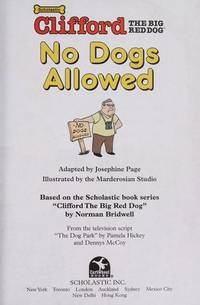 No dogs allowed (Clifford's big ideas) by  Josephine Page - Hardcover - from R A Cobb and Biblio.com