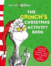 image of The Grinch's Christmas Activity Book (Dr Seuss)