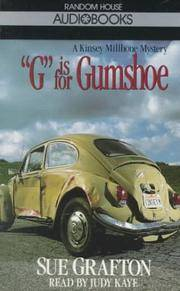 G is for Gumshoe (Sue Grafton)