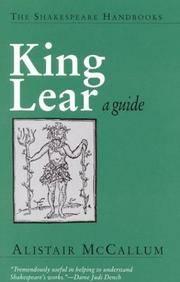 King Lear: A Guide (Shakespeare Handbooks)