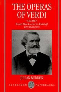 The Operas Of Verdi Vol 3