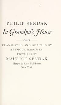 IN GRANDPA'S HOUSE. Translated & adapted from the Yiddish by Seymour Barofsky