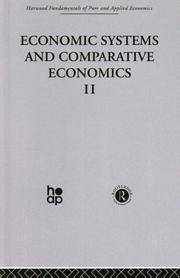image of P: Economic Systems and Comparative Economics II