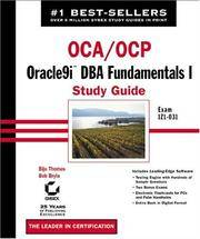 OCA/OCP: Oracle9i DBA Fundamentals I Study Guide