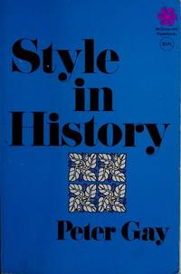 image of Style in history (McGraw-Hill paperbacks)