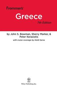 Frommer's Greece (Frommer's Complete Guides) by  Heidi Sarna  Sherry Marker - Paperback - 7 - 2010-02-02 - from Ergodebooks and Biblio.com