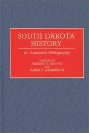 South Dakota History: An Annotated Bibliography