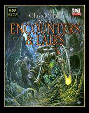 Classic Play: Encounters And Lairs by  August Hahn - Hardcover - 2003 - from Williams Books and Biblio.com