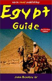 Egypt Guide, 2nd Edition (Open Road Travel Guides) by John Bentley IV