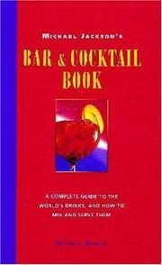 Bar and Cocktail Book