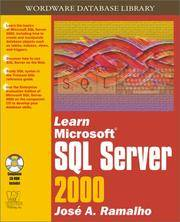 Learn Microsoft SQL Server 2000 (With CD-ROM)