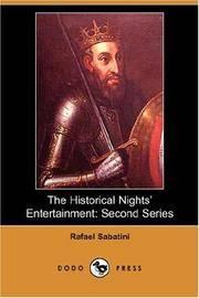 Historical Night's Entertainment