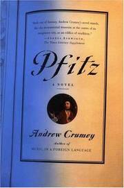 Pfitz: A Novel