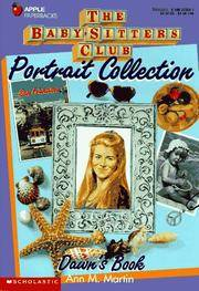 Dawns Book (Baby-Sitters Club Portrait Collection) by Ann M. Martin