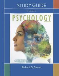 Study Guide for Myers Psychology