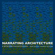 Narrating Architecture: A Retrospective Anthology