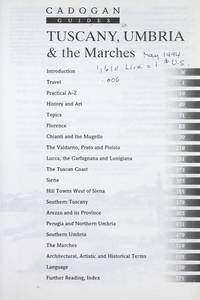 Tuscany, Umbria, & the Marches (Cadogan Guides)