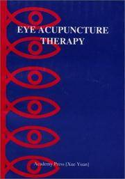 Eye Acupuncture Therapy [Paperback] Xin, Zhao