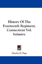 image of History Of The Fourteenth Regiment, Connecticut Vol. Infantry