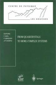 From Quasicrystals To More Complex Systems by  Universite De Paris  France; F. Denoyer - Paperback - from Students Textbooks and Biblio.com