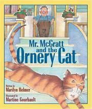 Mr. McGratt and the Ornery Cat