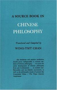 image of Source Book in Chinese Philosophy