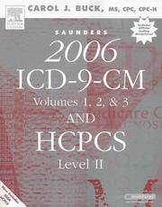 Saunders 2006 ICD-9-CM, Volumes 1, 2 & 3 and HCPCS Level II (Revised Reprint) (Saunders ICD-9...