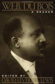 image of W. E. B. Du Bois: A Reader
