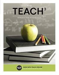 image of TEACH (with TEACH Online,1 term (6 months) Printed Access Card) (New, Engaging Titles from 4LTR Press)