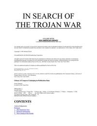 image of In Search of the Trojan War (Plume)
