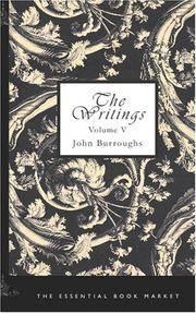 image of The Writings of John Burroughs, Volume V: Pepacton