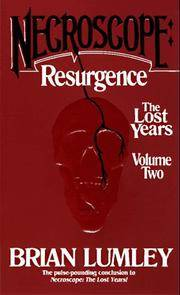 image of Necroscope: Resurgence: The Lost Years: Volume Two