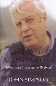 Wars Against Saddam by John Simpson - Hardcover - 2003-11-07 - from Ergodebooks (SKU: SONG1405032642)
