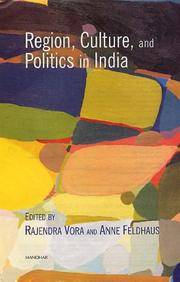 Region, Culture, and Politics in India