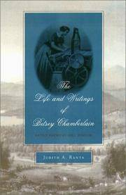 THE LIFE AND WRITINGS OF BETESY CHAMBERLAIN. Native American Mill Worker.