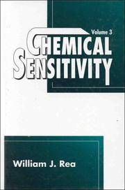 Chemical Sensitivity, Volume 3: Clinical Manifestations of Pollutant Overload