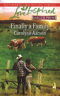 Finally a Family: Riverbend Series #2 (Larger Print Love Inspired #450)
