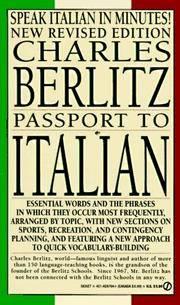 Passport To Italian