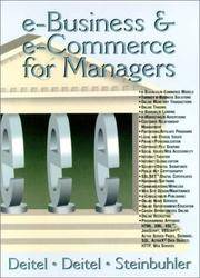 E-Business & E-Commerce for Managers
